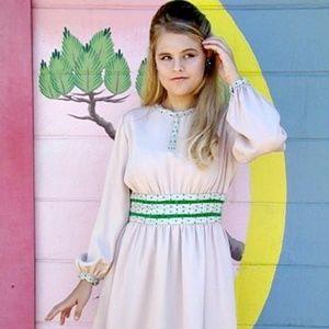 Vintage 1960s Pink Mini Dress